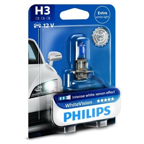 Avto žarnica Philips WHITE VISION 12336WHVB1 H3 PK22s/55W/12V