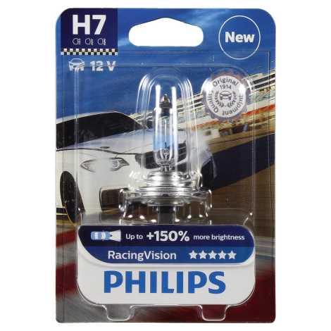 Avtožarnica Philips RACINGVISION 12972RVB1 H7 PX26d/55W/12V