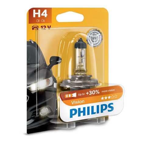Avtožarnica Philips VISION 12342PRB1 H4 P43t-38/60W/55W/12V