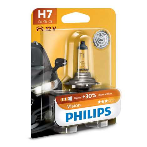 Avtožarnica Philips VISION 12972PRB1 H7 PX26d/55W/12V