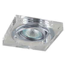 Downlight Family 1xGU10/50W Krom/kristal