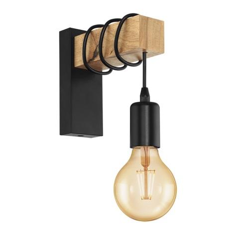 Eglo 32917 - Stenska svetilka TOWNSHEND 1xE27/10W/230V