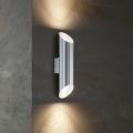 Eglo 54604 - LED Zunanja stenska svetilka AGOLADA 2xLED/3,7W/230V IP44