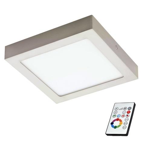 Eglo 78768 - LED RGB Zatemnitvena stropna svetilka TINUS 1xLED/6W/230V