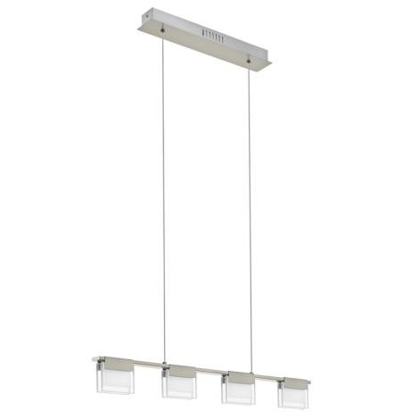 Eglo 93731 - LED zatemnitveni lestenec CLAP 1 4xLED/5,8W/230V