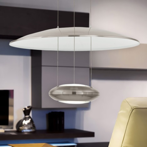 Eglo 93912 - LED viseča svetilka LEMOS 2xLED/7,8W/230V