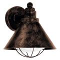 Eglo 94858 - Zunanja svetilka BARROSELA 1xE27/40W/230V IP44
