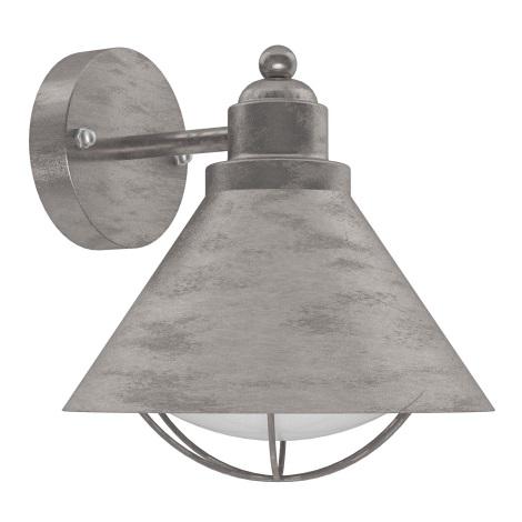Eglo 94859 - Zunanja svetilka BARROSELA 1xE27/40W/230V IP44