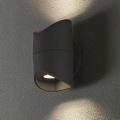 Eglo 95076 - Zunanja stenska svetilka ABRANTES 2xLED/6W/230V IP44