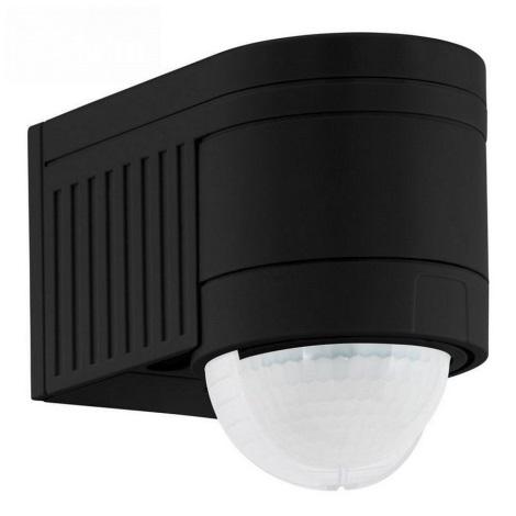 Eglo 96462 - Zunanji senzor gibanja DETECT ME 4 črn IP44