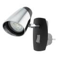 Eglo 96845 - LED Stenska svetilka v vtičnico MONCALVIO 1xGU10/3,3W/230V