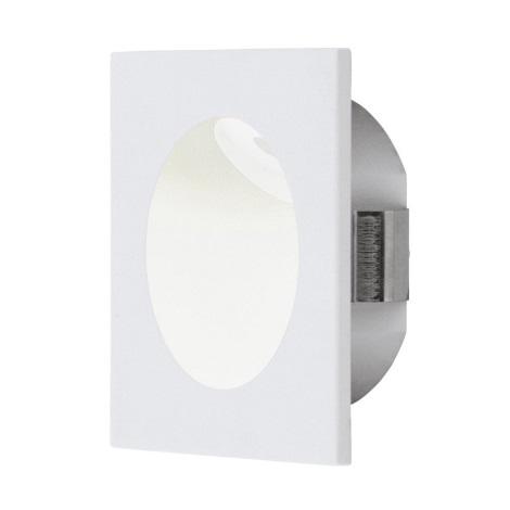 Eglo 96901 - LED Stopniščna svetilka ZARATE 1xLED/2W/230V bela