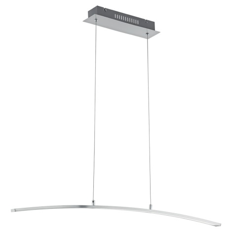 Eglo 97064 - LED Lestenec na vrvici FLAGRANERA 1xLED/19W/230V