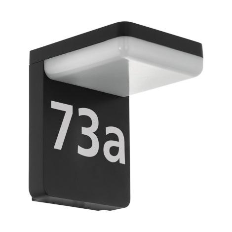 Eglo 98091 - LED Hišna številka AMAROSI LED/11W/230V IP44