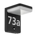 Eglo 98092 - LED Hišna številka s senzorjem AMAROSI LED/11W/230V IP44