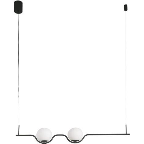 FARO 29696 - LED Lestenec na vrvici 2xLED/6W/230V