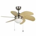 FARO 33183 - Stropni ventilator PALAO 1xE14/40W/230V