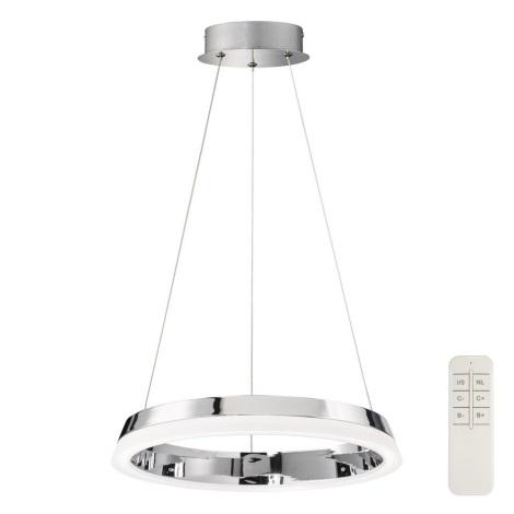 Fischer & Honsel 60280 - LED Zatemnitveni lestenec na vrvici TRIPOLI 1xLED/18W/230V