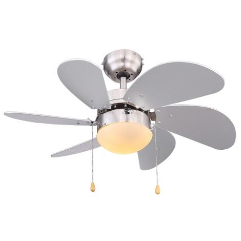 Globo 03801 - Stropni ventilator RIVALDO 1xE14/60W/230V