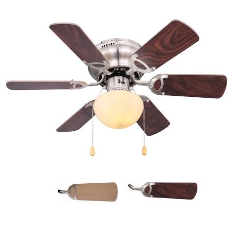 Globo 03802 - Stropni ventilator UGO 1xE27/60W/230V