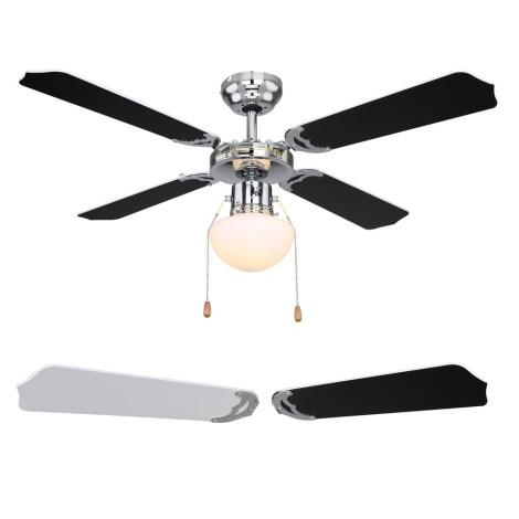 Globo 03805 - Stropni ventilator CHAMPION 1xE27/60W/230V