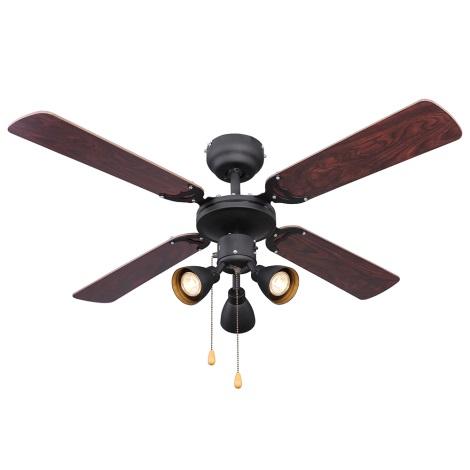 Globo 03808 - Stropni ventilator HARVEY 3xGU10/50W/230V