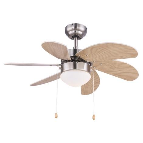 Globo 03809 - Stropni ventilator RIVALDO 1xE14/60W/230V