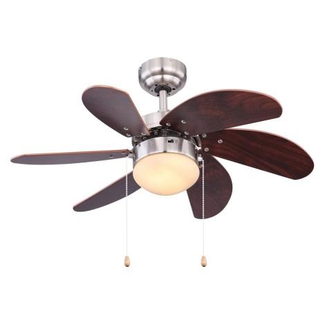 Globo 03810 - Stropni ventilator RIVALDO 1xE14/60W/230V