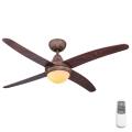Globo 03814 - Stropni ventilator LIZZ 1xE14/60W/230V + daljinski upravljalnik