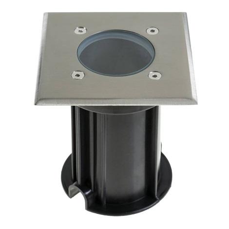 Grundig 07540 - LED Zunanja luč za dovozno pot 1xGU10/4W/230V IP65 kvadratni