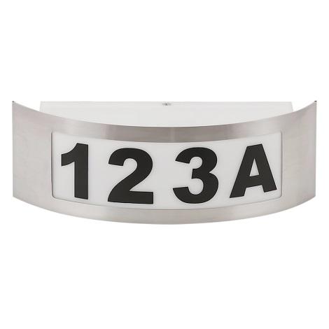 Hišna številka 1xE27/14W/230V IP54