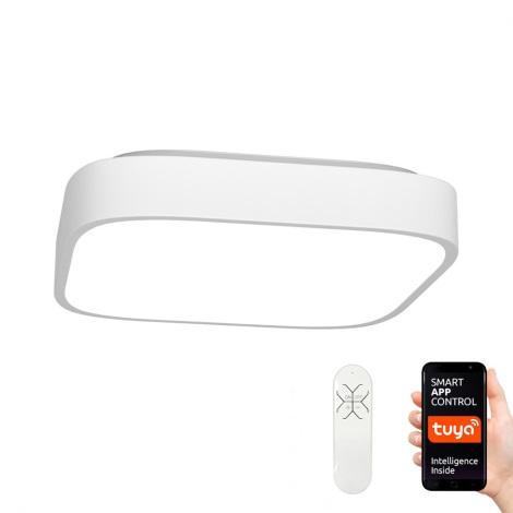 Immax NEO 07040L - LED Zatemnitvena stropna svetilka RECUADRO LED/56W/230V + Daljinski upravljalnik Tuya