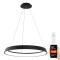 Immax NEO 07080L - LED Zatemnitveni lestenec na vrvici LIMITADO LED/39W/230V 60 cm črn Tuya