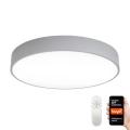 Immax NEO 07143-GR80 - LED Zatemnitvena stropna svetilka RONDATE LED/65W/230V Tuya siva + Daljinski upravljalnik