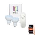 Immax NEO - 2xLED Zatemnitvena žarnica GU10/4,8W/230V + upravljalnik ZigBee