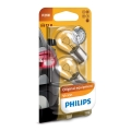 KOMPLET 2x Avtožarnica Philips VISION 12498B2 P21W BA15s/21W/12V
