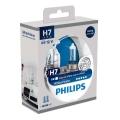 KOMPLET 2x Avtožarnica Philips WHITEVISION 12972WHVSM H7 PX26d/55W/12V