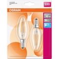 KOMPLET 2x LED Žarnica E14/4W/230V 4000K - Osram