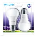 KOMPLET 2x LED žarnica Philips E27/6W/230V