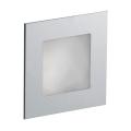LDST AN-01-SS-BC16 - Luč za osvetlitev stopnišča ANGEL 16xLED/1,2W/230V