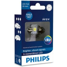 LED Avto žarnica Philips X-TREME ULTINON 129416000KX1 LED SV8.5–8/0,8W/12V 6000K