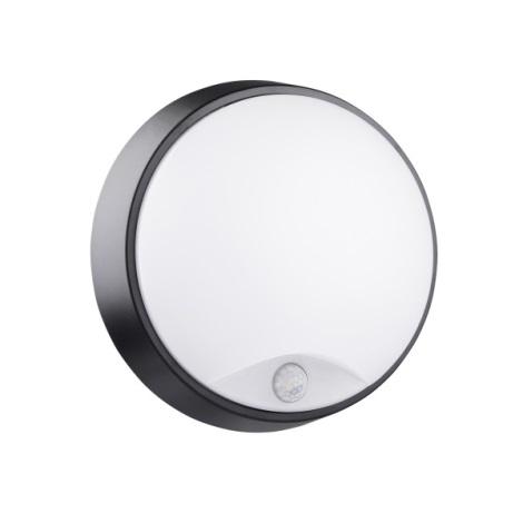 LED Kopalniška stenska svetilka s senzorjem BULKHEAD LED/14W/230V IP54