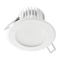 LED Kopalniška vgradna svetilka LED/7W/230V 2800K bela IP44