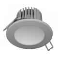LED Kopalniška vgradna svetilka LED/7W/230V 4000K siva IP44
