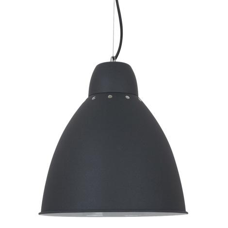 LED Lestenec 1xE27/10W/230V črn 29,5cm