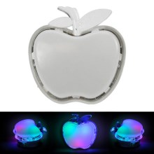 LED Nočna svetilka za vtičnico APPLE LED/0,4W/230V