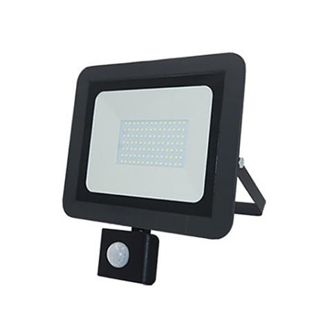 LED Reflektor s senzorjem ALUM 1xLED/50W/230V IP44 4000K