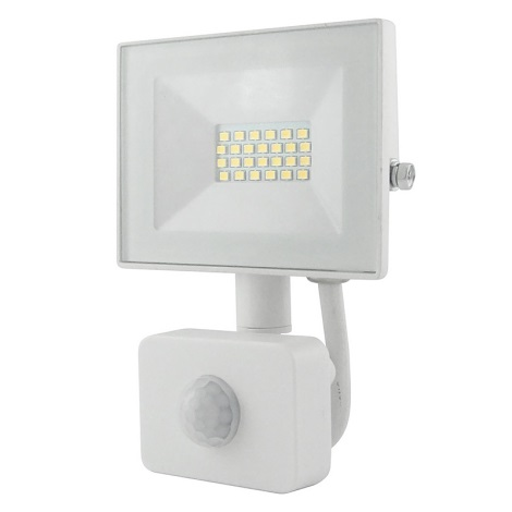 LED Reflektor s senzorjem LED/10W/230V IP64 800lm 4200K