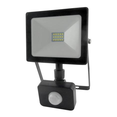 LED Reflektor s senzorjem LED/10W/230V IP64 800lm 4200K