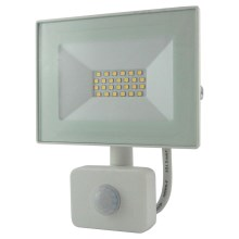 LED Reflektor s senzorjem LED/20W/230V IP64 1600lm 4200K